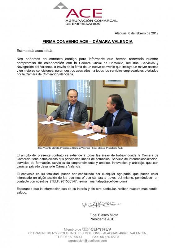 convenio con camara valencia 2019-1